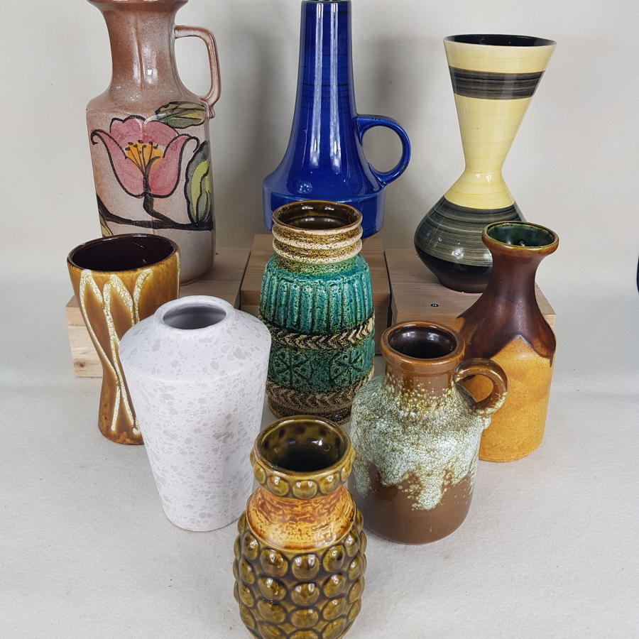 East & West German Pottery 50s/60s/70s