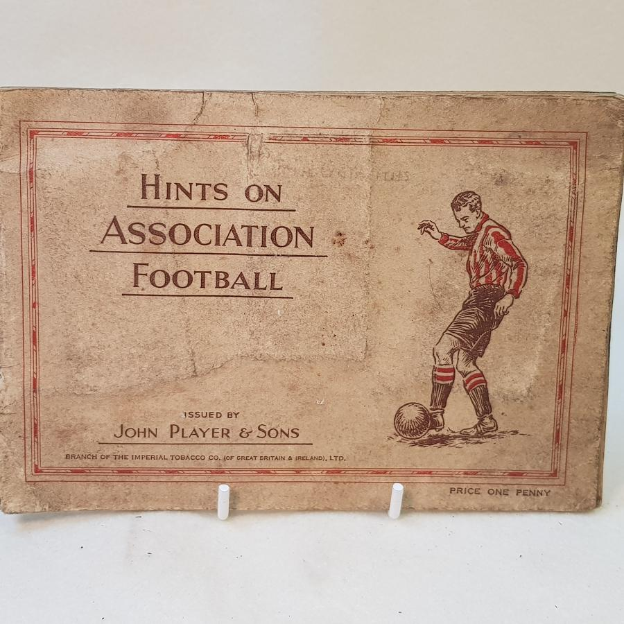 John Player Football Cards and Leaflet, Issued 1934