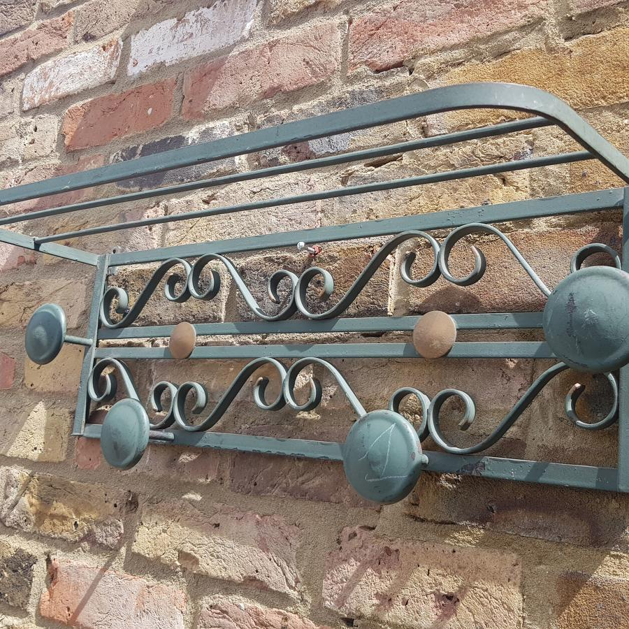 French 1940s Hat and Coat Rack