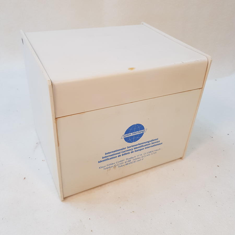 Bank Currency Identification Box
