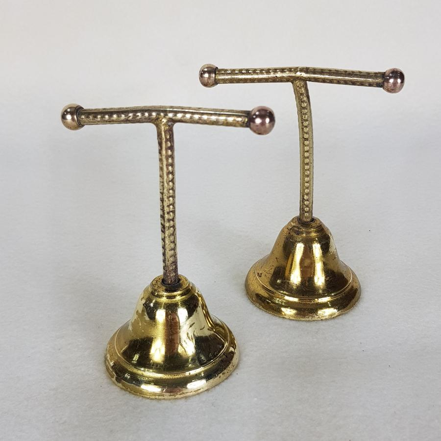 Pair of 1920s/1930s Brass Retail Jewellery Display Stands