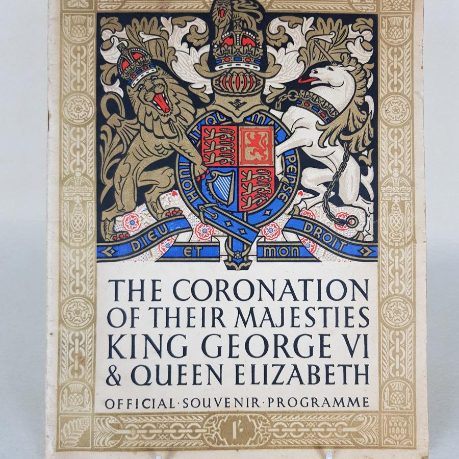 King George VI Coronation - Official 1937 Souvenier Programme