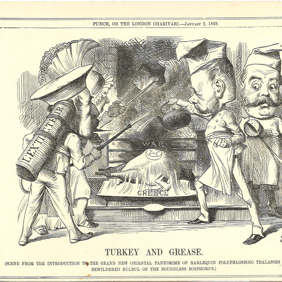Punch - Cartoons From 1869