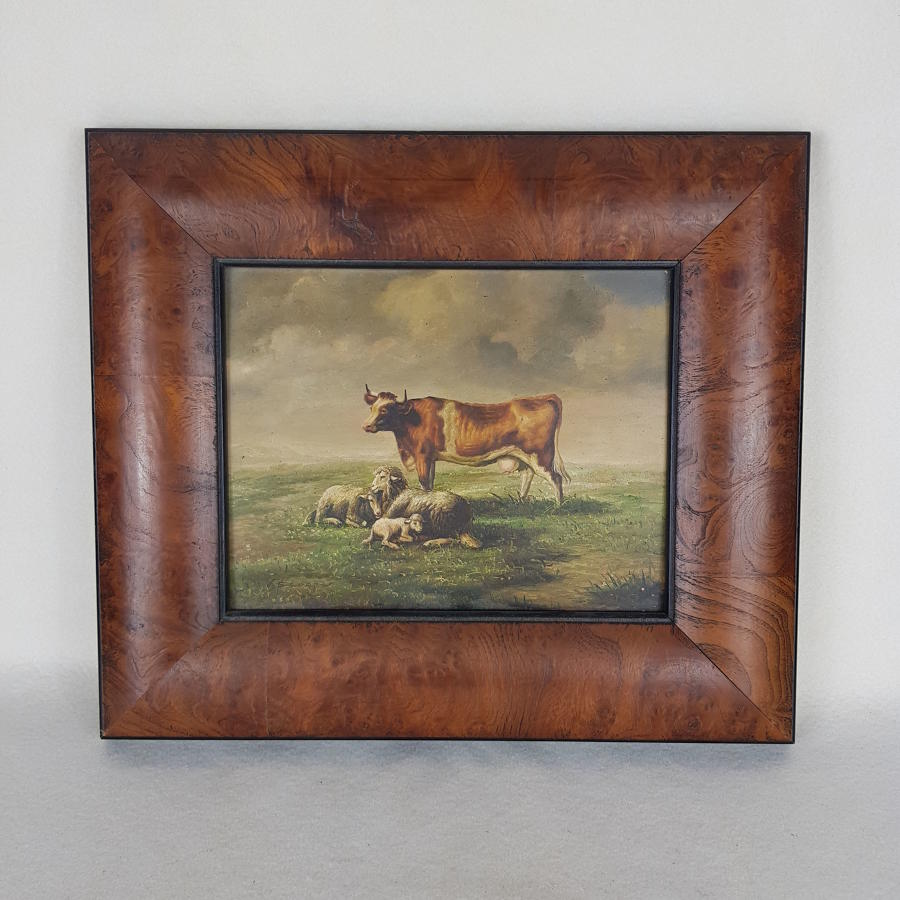 S Cooper Painting - Cows And Sheep