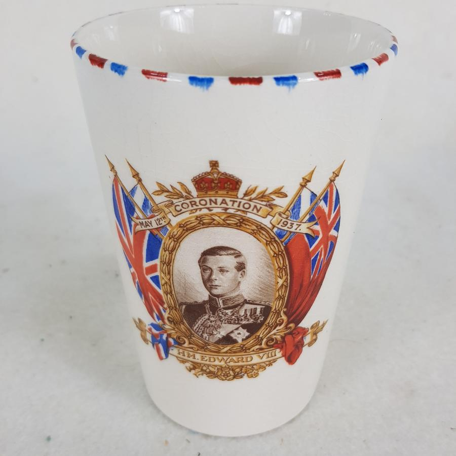 King Edward VIII Commemorative Coronation Beaker