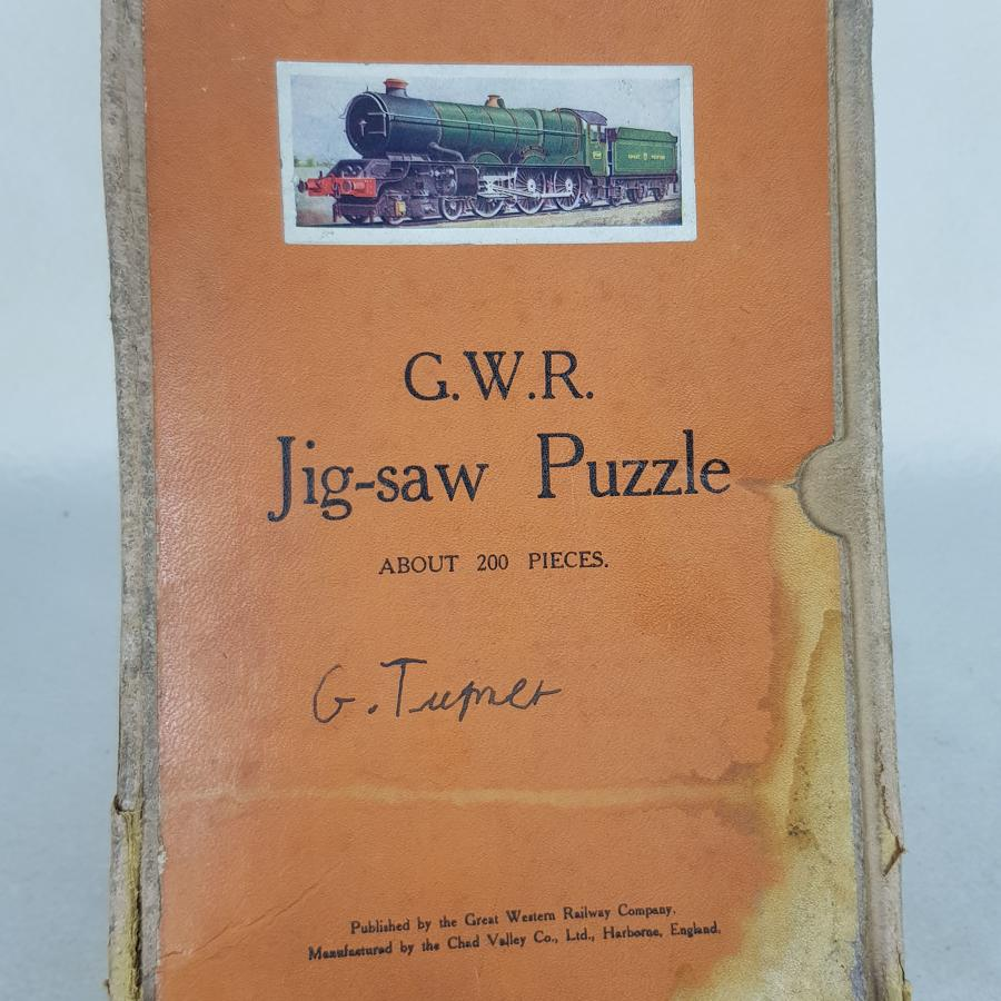 Chad Valley GWR King George V Jig Saw Puzzle (Complete)