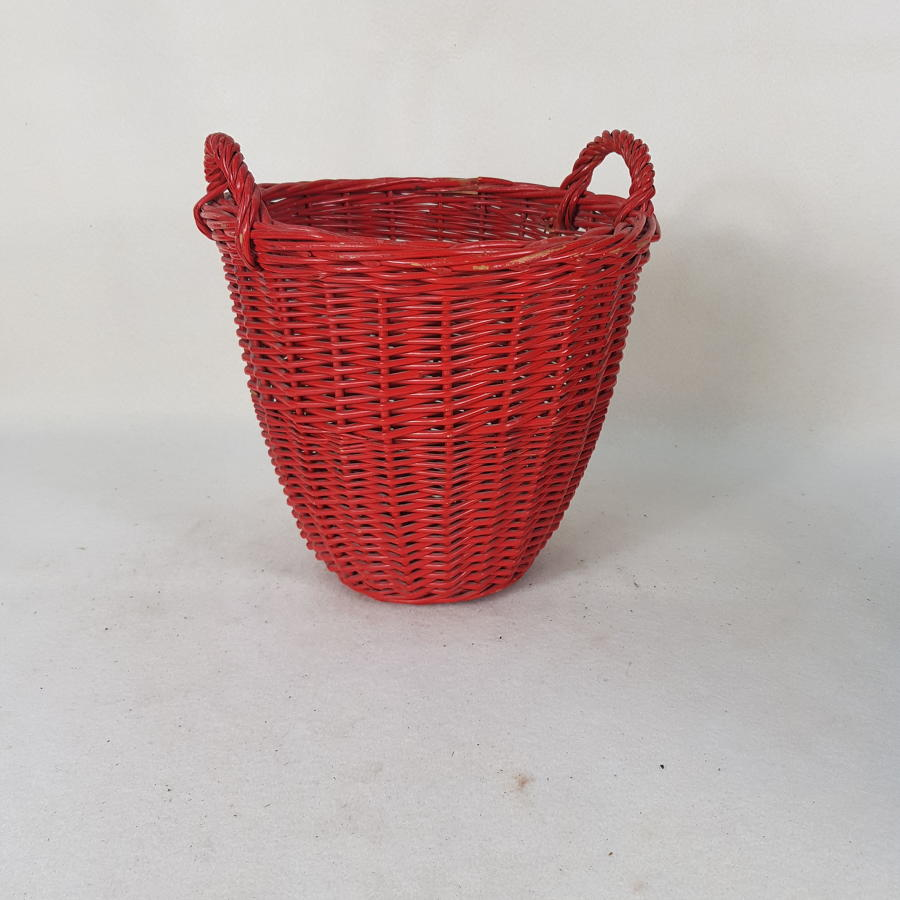 1950s Dutch Duster Basket #3 (Red)