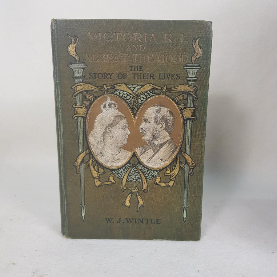 Victoria R.I and Albert The Good by W J Wintle c1895
