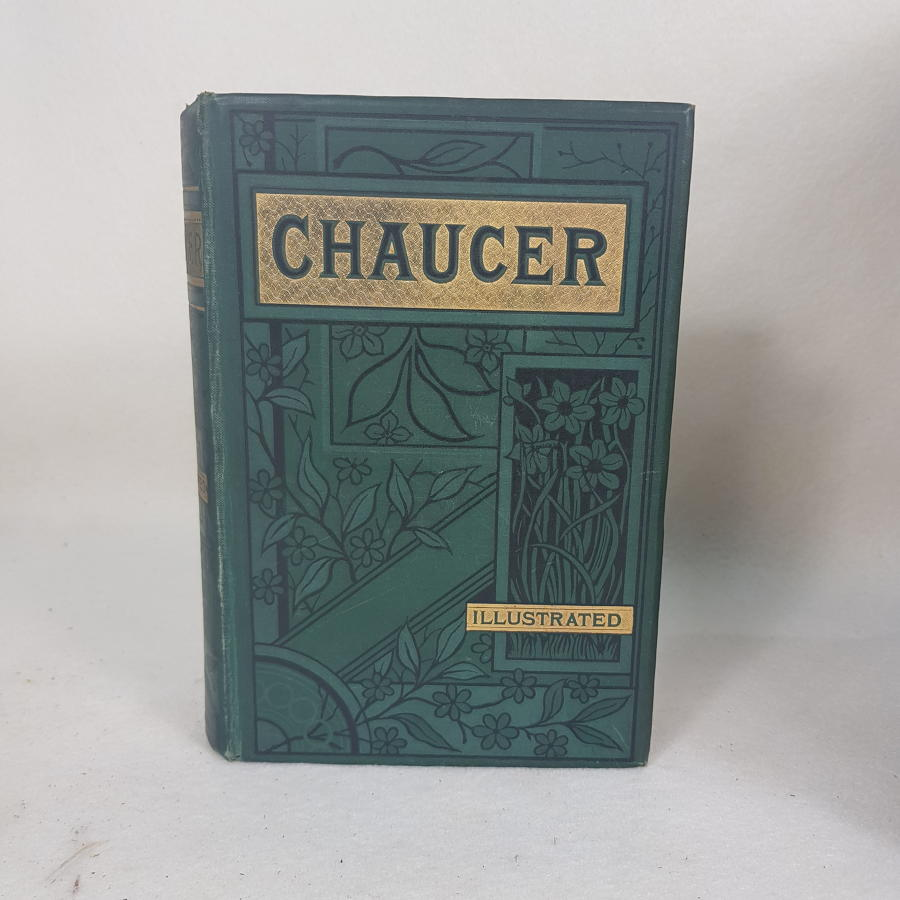 Chaucer The Canterbury Tales, Illustrated Edition c1888