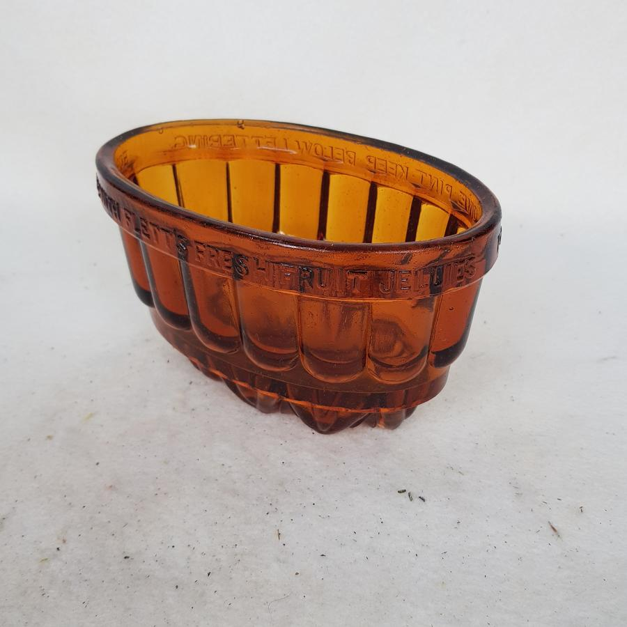 Rare Late Victorian Amber Glass