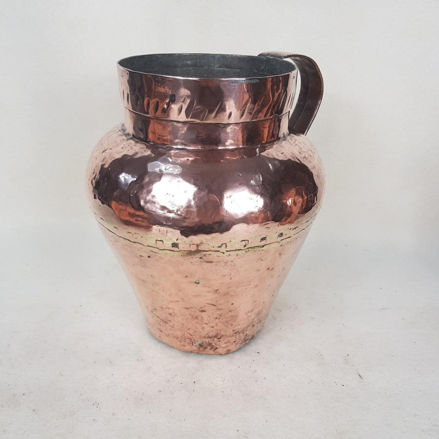 Early 19th Century French Copper Jug