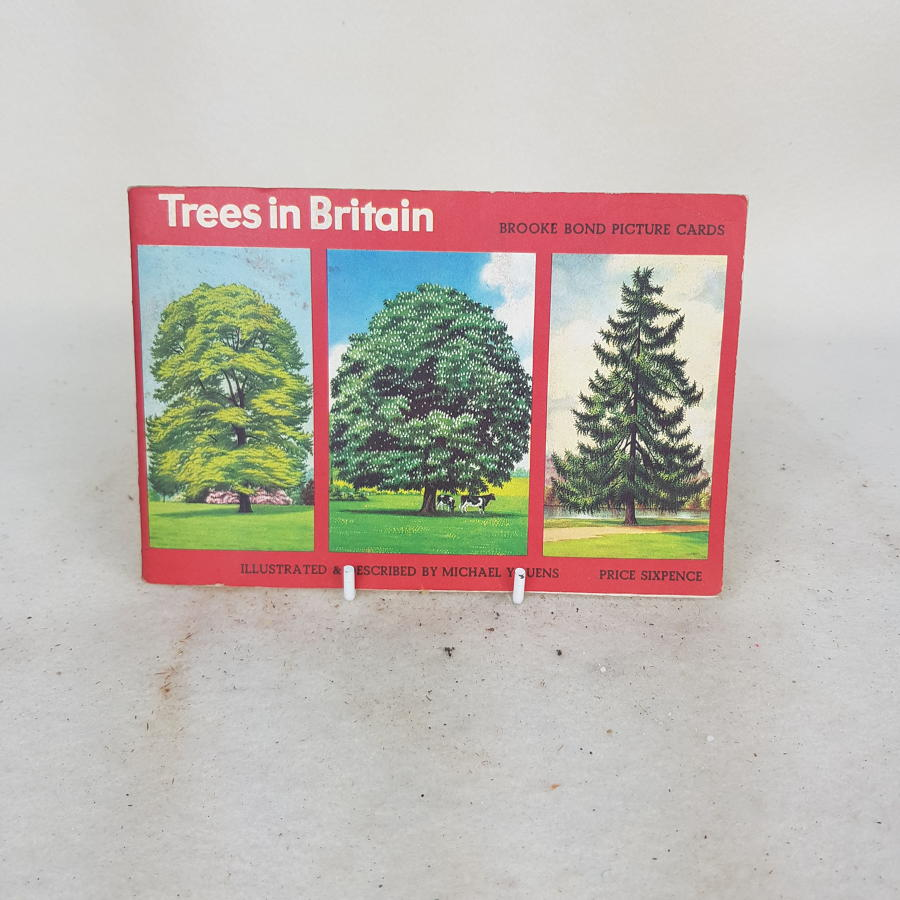 Brooke Bond Tea Cards c1970 - Trees In Britain (complete)